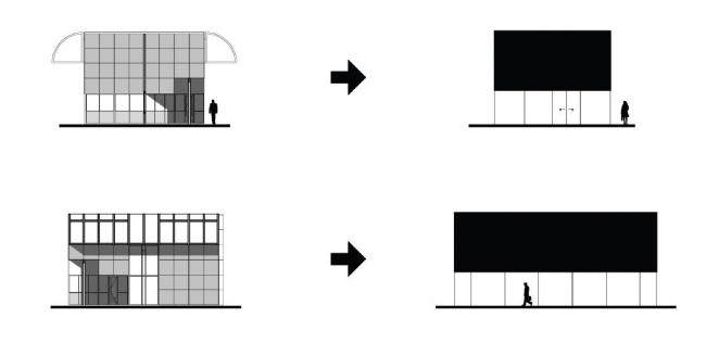 КПП индустриального парка Kleefse Waard © NL Architects
