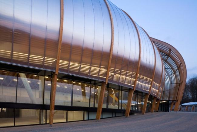 Концертный зал «Зенит» © Bernard Tschumi Architects