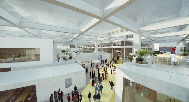 Инженерное училище École Centrale Paris © OMA