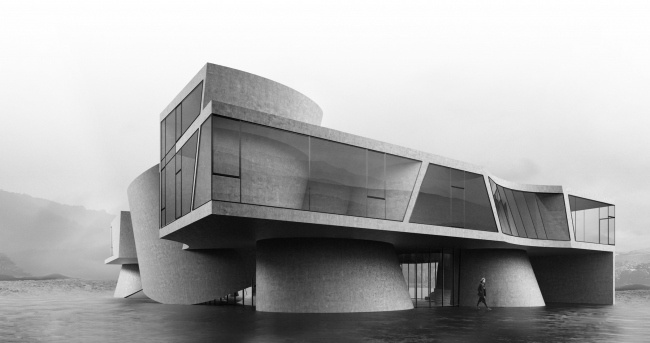 Первый вариант выставочно-делового центра