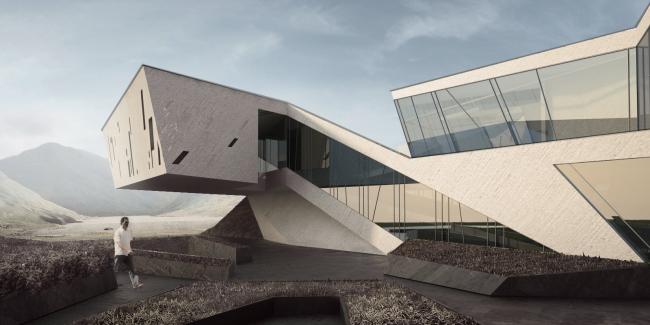 Концепция выставочно-делового комплекса в Сахалине