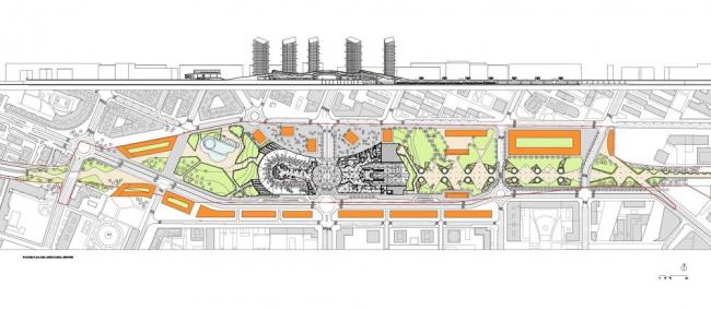 Вокзал скоростных поездов в Логроньо © Ábalos + Sentkiewicz arquitectos