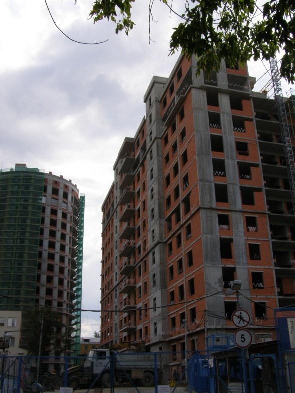 Английский квартал в процессе строительства