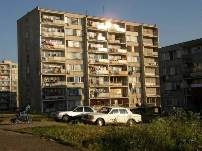 Маргинализированный микрорайон в Восточной Европе. Фото с сайта webpark.ru