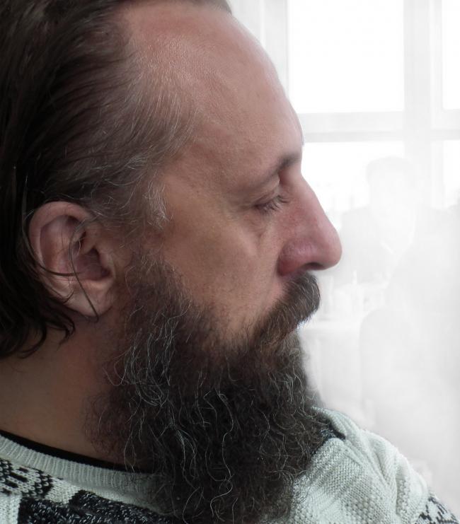 Александр Ложкин. Фотография и коллаж Ю.Тарабариной