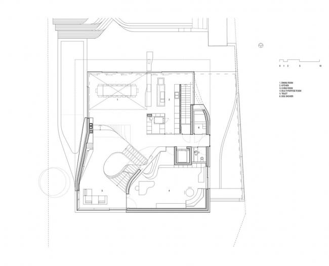 Дом «ам Вайнберг» © UNStudio