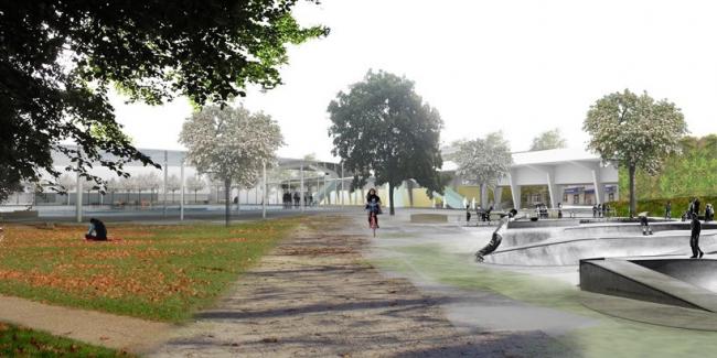 Новый автовокзал «Рутен» © Weiss Images