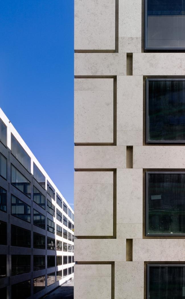 Кампус Педагогического института Цюриха в квартале Europaallee. Фото: Stefan Müller