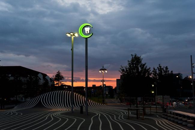 Общественное пространство «Суперкилен» © Mike Magnussen