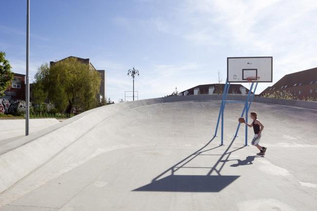 Общественное пространство «Суперкилен» © Torben Eskerod