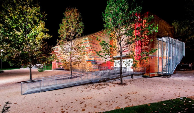 Коцертный зал Parco della Musica в Аквиле © Marco Caselli Nirmal