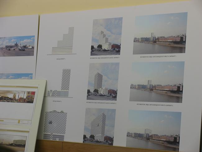 Проект многофункционального комплекса на Варшавском шоссе