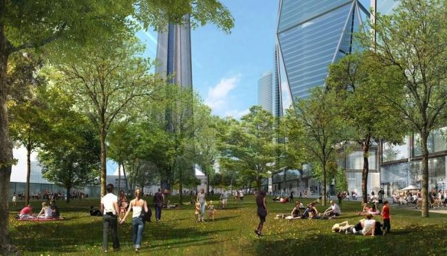 Мастерплан реконструкции конгресс-центра Метро-Торонто © Foster + Partners