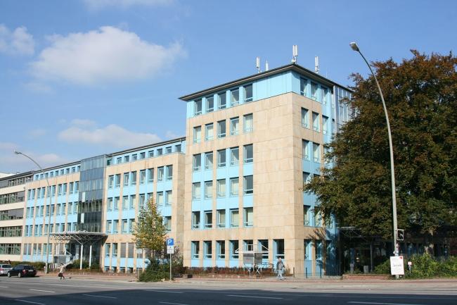 Офисное здание Schlump ONE. Вид до реконструкции © J. Mayer H. Architects
