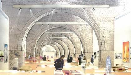 Ж.-Ф. Боден. Ж.-Ф. Боден. Зал временных выставок Центра архитектуры и наследия