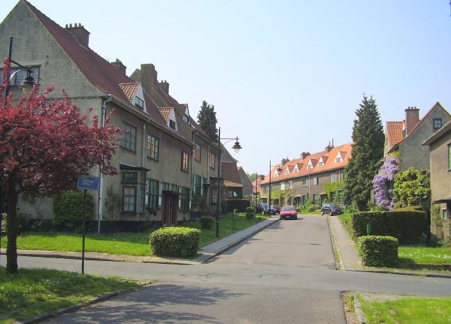 Город-сад Ле Логис близ Брюсселя. Фото: Wikipedia, GNUFDL1.2