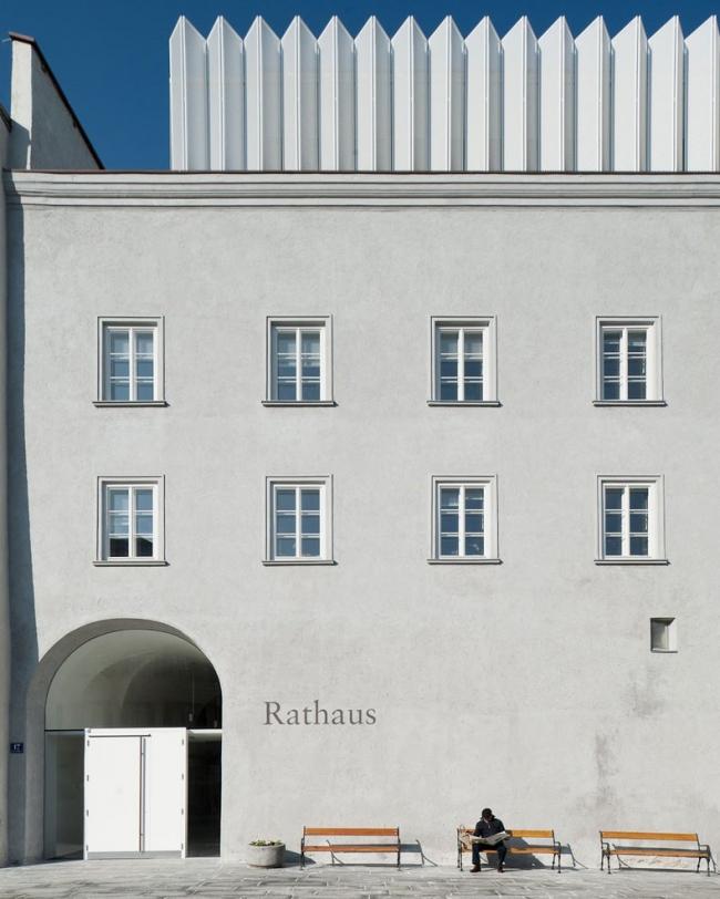 Ратуша Куфштайна - реконструкция © Lukas Schaller