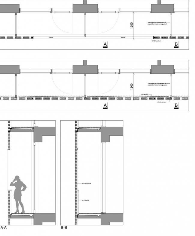 Отель Paasitorni. Конструкция фасада © K2S Architects