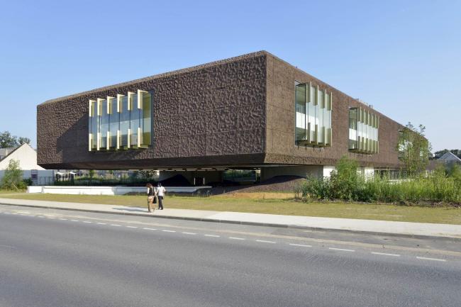 Библиотека университета Марн-ла-Валле © Olivier Amsellem