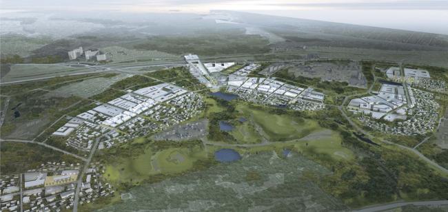 Skolkovo Innovation Center. Master plan