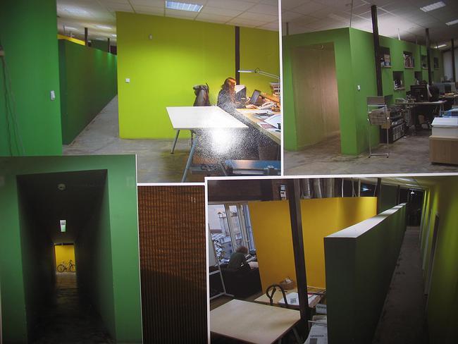 Офис коммуникационной компании и культурного центра Zero Алексея Левчука