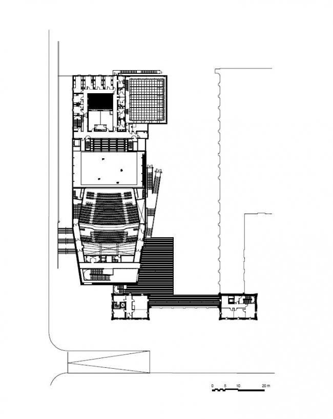 Театр в Сен-Назере © K-architectures