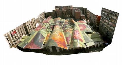 "«EMBT Мираллес Тальябуэ"". Реконструкция рынка Санта Катерина в Барселоне"