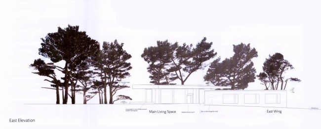 Вилла Secular Retreat © Living Architecture & Peter Zumthor