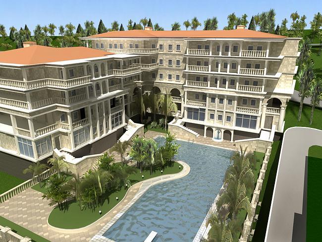 Новый корпус апарт-отеля
