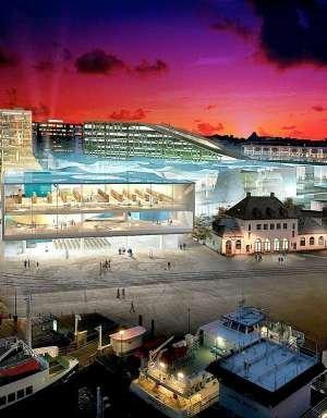 Центр мировой торговли в Осло. Проект-концепт
