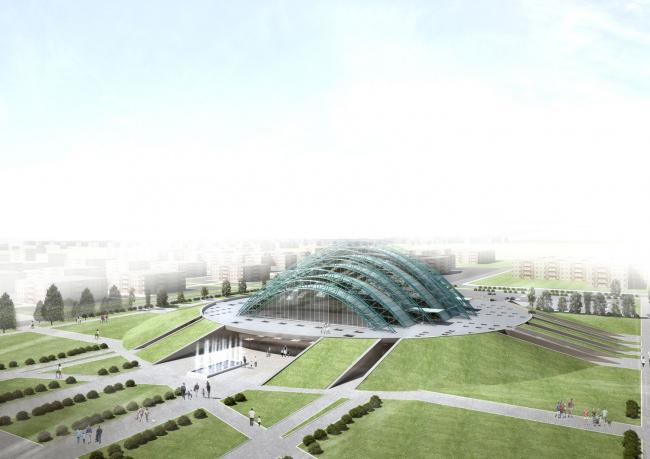 Дворец спортивных единоборств © Архитектурное бюро «Студия 44»