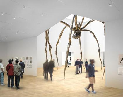 Тейт Модерн 2. Вид выставочных залов