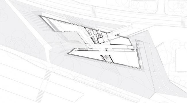 Музей искусств Элая и Эдит Броуд © Zaha Hadid Architects