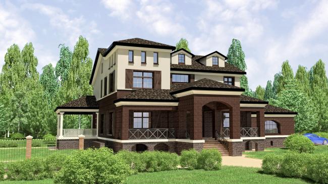Реконструкция поселка Rubin Estate © Архстройдизайн АСД