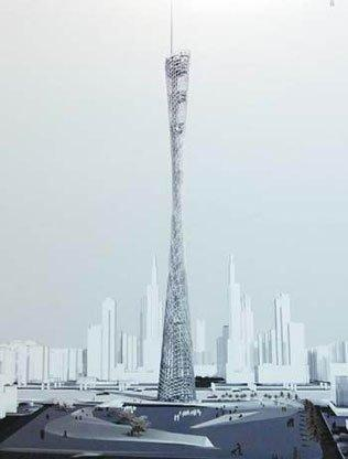IBA и ARUP. Конкурсный проект телебашни Гуанчжоу