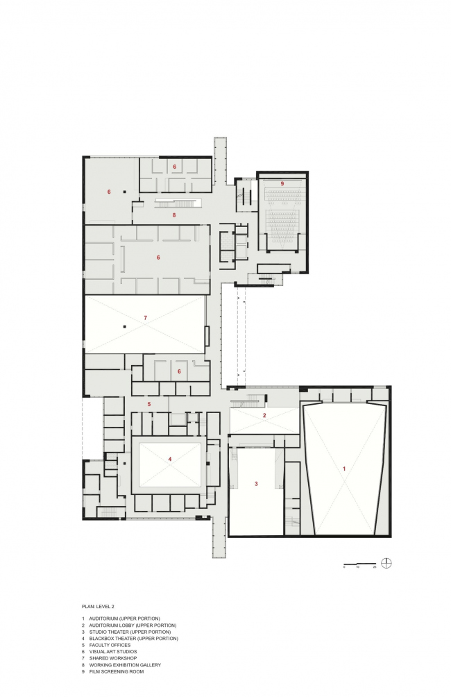 Центр искусств Ривы и Дэвида Логанов. Tod Williams Billie Tsien © The University of Chicago