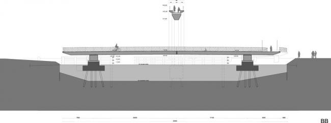 Мост Мелквегбрюг © NEXT Architects