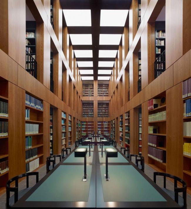 Библиотека Университета искусств Фолькванг © Stefan Müller