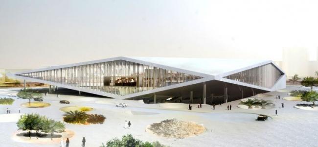 Национальная библиотека Катара © OMA