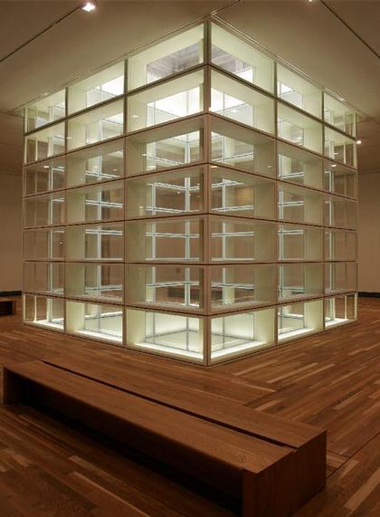 Новый корпус Музея Прадо. Зал со световым колодцем
