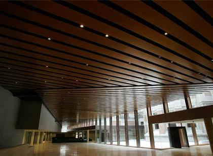 Новый корпус Музея Прадо. Вестибюль