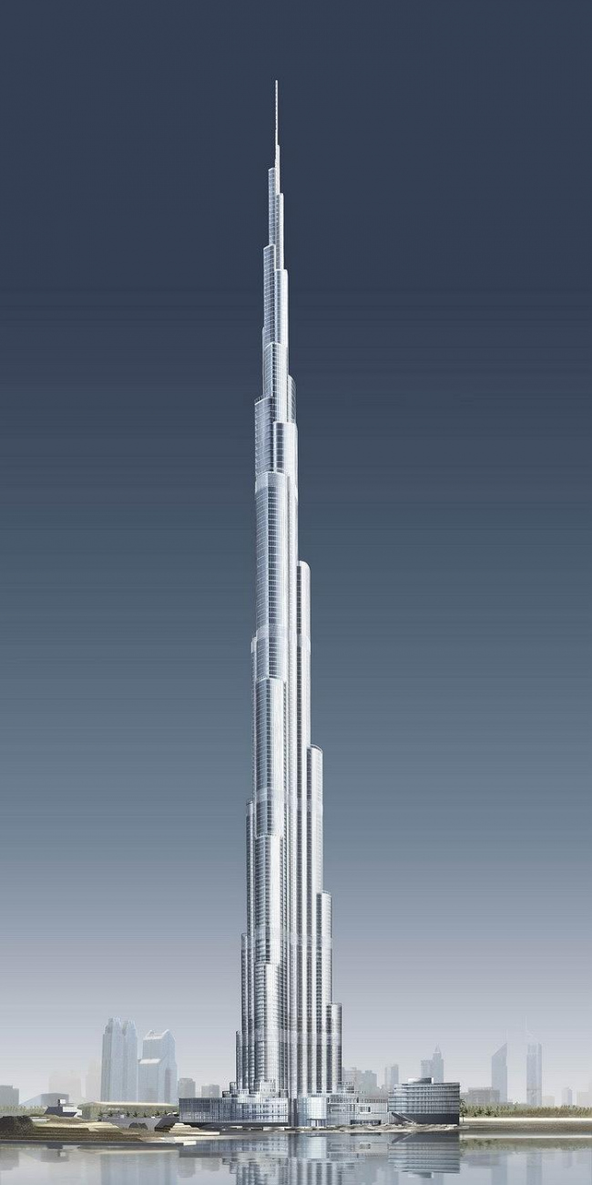 Бурж Дубай. Проект © COM