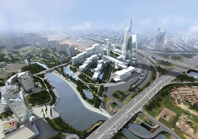 Проект «Химки-Сити» М. Хазанова.