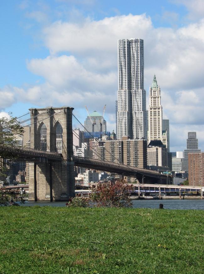 Башня New York by Gehry (8 Spruce Street) © Gehry Partners, Los Angeles
