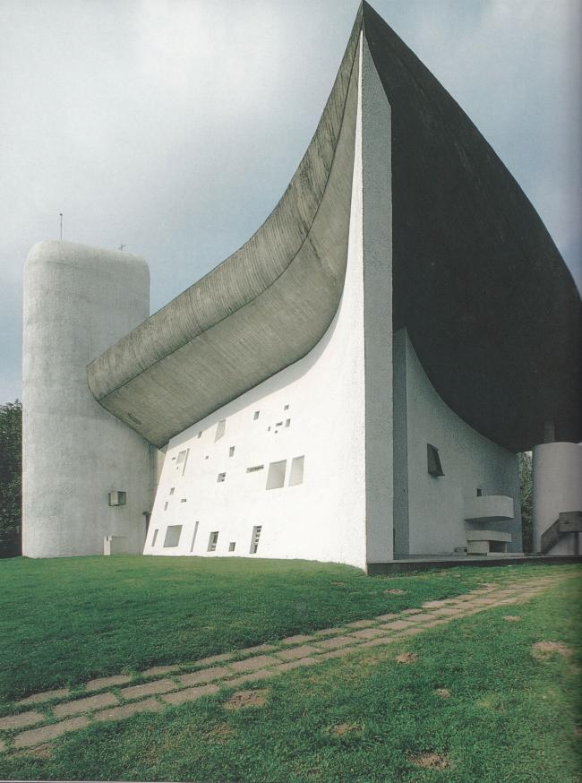 Нотр-Дам-дю-О в Роншане, 1951-1955