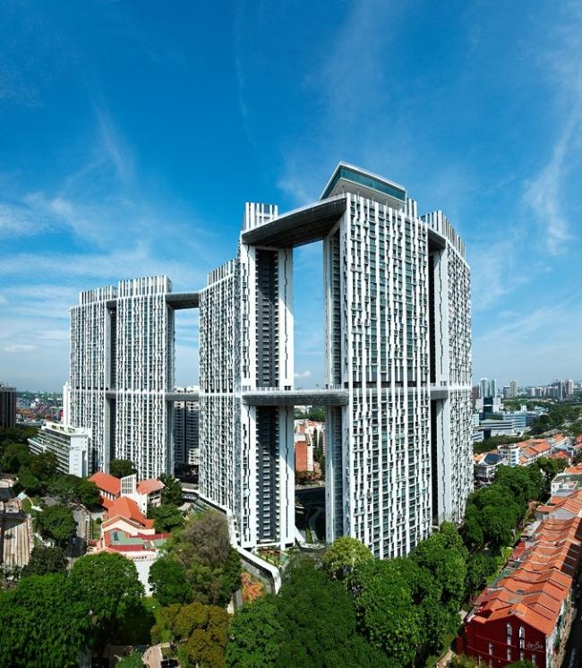 The Pinnacle@Duxton в Сингапуре. ARC Studio Architecture + Urbanism. Фото © ARC Studio, RSP Architects/Planners & Engineers. David Phan Photographers