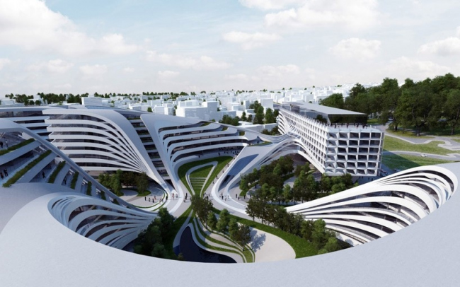 Комплекс Beko © Zaha Hadid Architects
