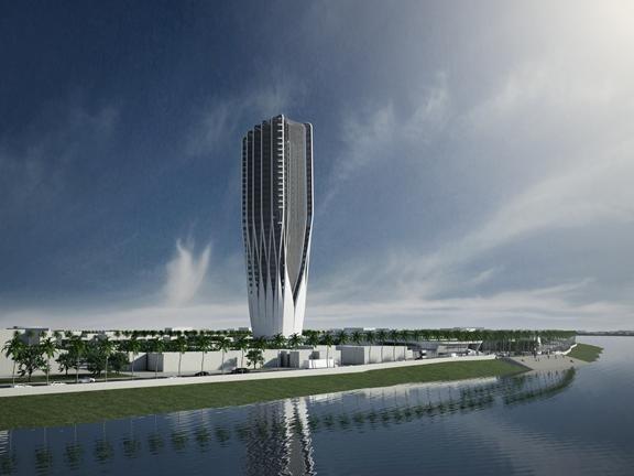 Центральный банк Ирака © Zaha Hadid Architects