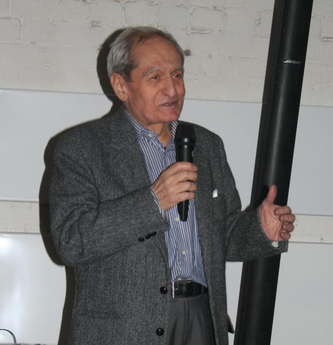 Илья Георгиевич Лежава, заведующий кафедрой градостроительства МАрхИ