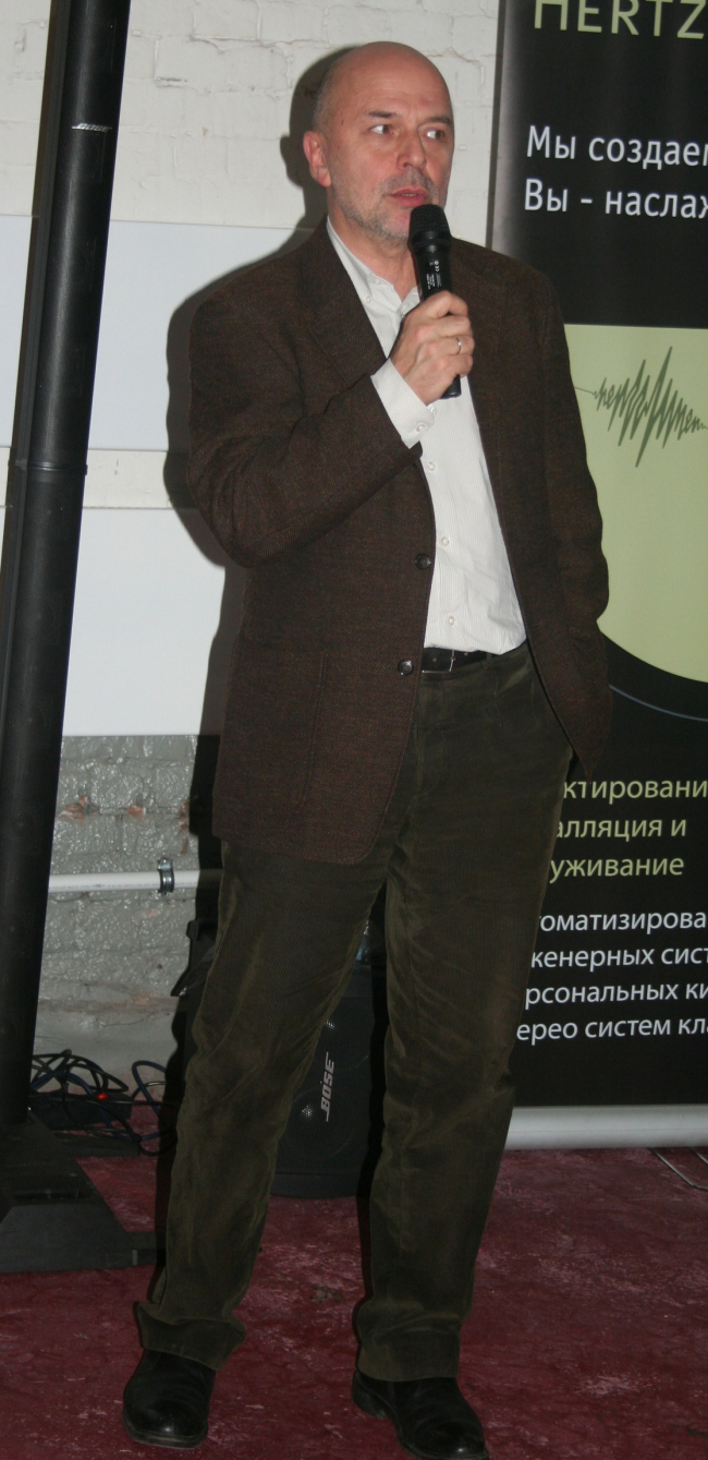Андрей Леонидович Гнездилов, заместитель директора и ведущий архитектор бюро «Остоженка»